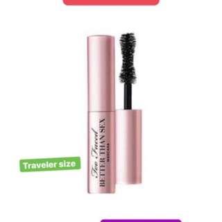 Mascara too faced travel size