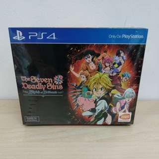 (Brand New) PS4 The Seven Deadly Sins: Knights of Britannia - Collector's Edition / R3