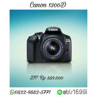 Kredit Kamera DSLR Canon 1300D, Tanpa Kartu Kredit