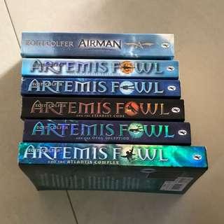 Artemis Fowl story books