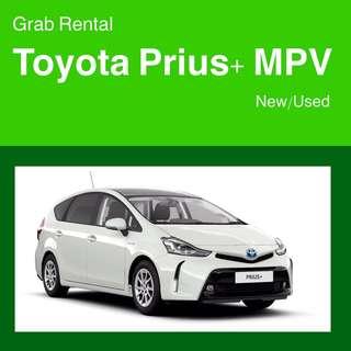 null Grab Rental - Toyota Prius+ MPV