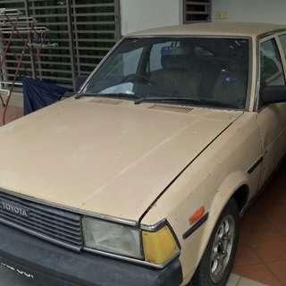 Toyota Corolla gl dx ke70