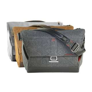 "Peak Design Everyday Messenger Bag 13"" and 15"" - Available in Ash, Charcoal & Heritage Tan"