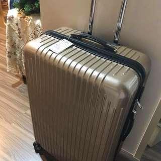 超大28吋香檳時尚旅行箱