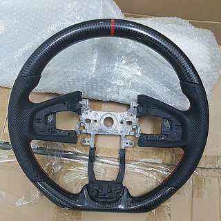 Civic FC carbon Steering. 1 To 1 Swop W Yr Orig Steering. Ready Stock 1 Pc.