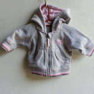 Baby Hoodie Sweater (3-6mo)