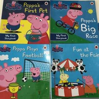 Peppa Pig storybooks
