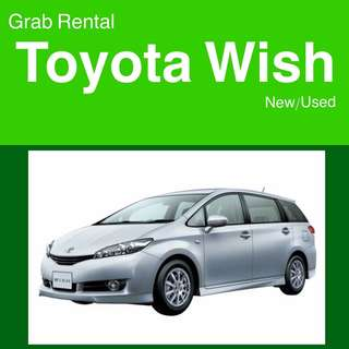 null Grab Rental - Toyota Wish