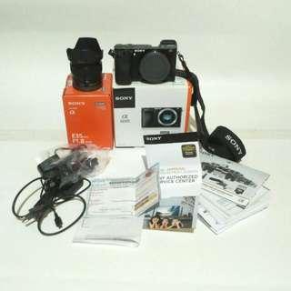 Sony a6000 + lensa fix 35mm f1.8