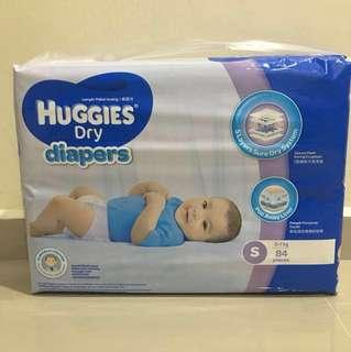 Huggies Dry Diapers S84