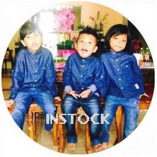 INSTOCK Unisex Kids Denim
