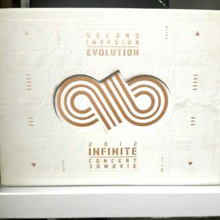 Infinite 2012 Second Invasion (evolution) Limited Edition DVD
