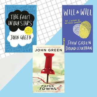 [CLEARANCE] John Green Books