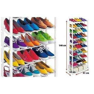 Hanger Jilbab.  Rak Sepatu