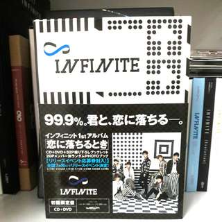 Infinite Man In Love Limited Edition CD+DVD