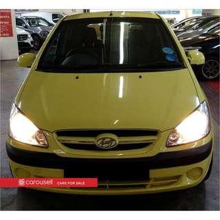 Hyundai Getz 1.4A 5DR (COE till 03/2021)