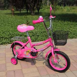 Pink Dora the Explorer Bike with Balancer