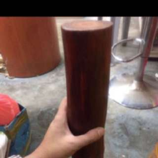 {FS138} 80 Years Old Deep Red Raja Kayu Wood log
