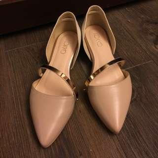 🚚 KOKKO 側空小增高包鞋