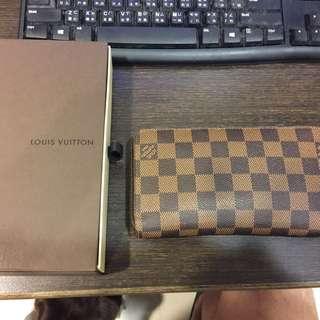 🚚 Louis Vuitton經典棋盤格長夾
