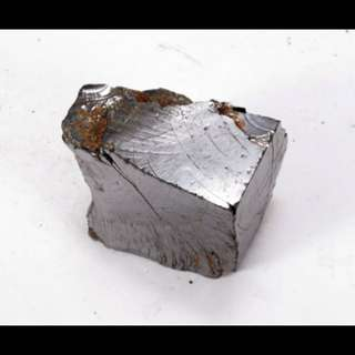 Shungite Natural Elite Noble Silver Rough Raw 47.7grams