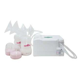 Spectra 3 dual electric breast pump with free accessories