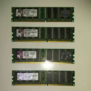 Kingston RAM KVR400X64C3A/512  512Mx4pcs