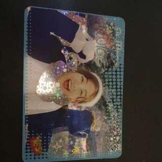 TWICE JI HYO 閃卡 YES CARD