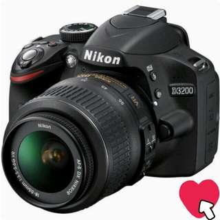 D3200 camera