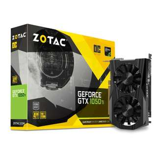 ZOTAC GeForce® GTX 1050 Ti OC Edition 4Gb (ZT-P10510B-10L)