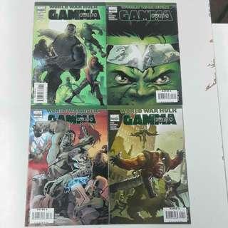World War Hulk Gamma Corps (2007) Comics Set