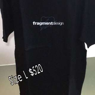 Sale! Fragment x Bearbrick Tee
