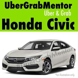 Honda Civic for Uber Grab