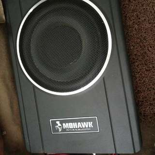 MOHAWK ACTIVE SUBWOOFER UNDERSEAT