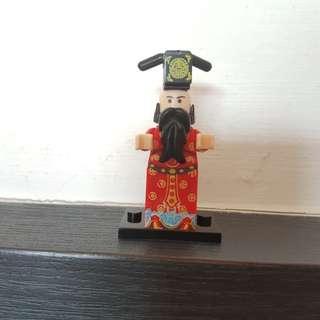 Bricks Minifigurine fortune god 财神爷 god of wealth