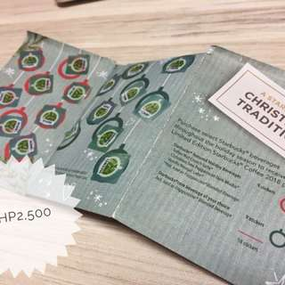 Starbucks Planner Completed Sticker Booklet