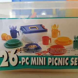 26 pieces Mini Picnic Set