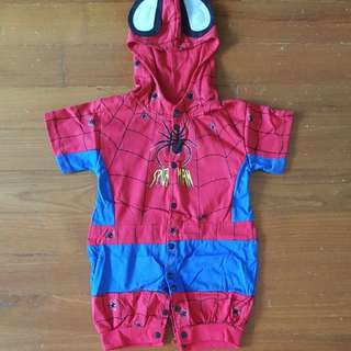 BN Baby Spiderman costume sz M (3-9mo) for CNY!