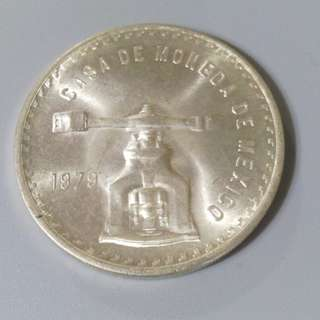 1979年 墨西哥 銀幣