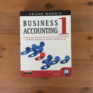 Frank Wood Business Accounting 1 & 2