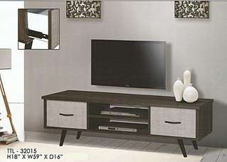 perabot murah tv cabinet model - 32015