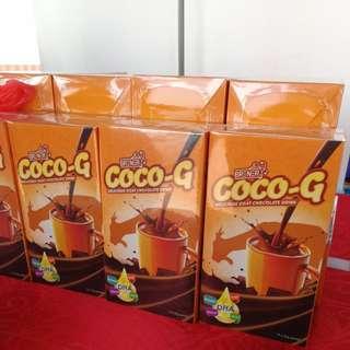 Coco-G Minuman Coklat Susu Kambing