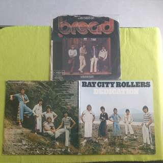 2LP. BREAD/ BAY CITY ROLLERS/the best of vol.2/ dedication. ( Buy 1 get 1 free ) Vinyl record