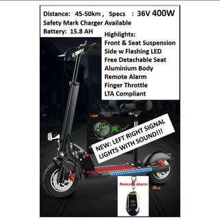Escooter for your easy transportation pm for more details!