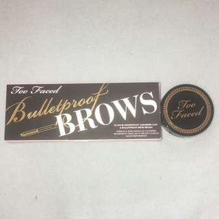 Too Faced Bulletproof brows- Taupe
