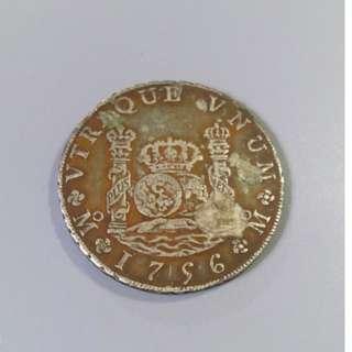 1796年 西班牙 銅幣