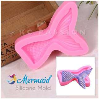 🧜♀️ MERMAID SILICONE MOLD TOOL for Pastry • Chocolate • Fondant • Gum Paste • Candy Melts • Jelly • Gummies • Agar Agar • Ice • Resin • Polymer Clay Craft Art • Candle Wax • Soap Mold • Chalk • Crayon Mould •