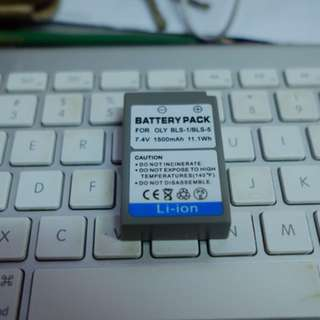 BLS-1 / BLS-5 Third Party Battery for aolympus
