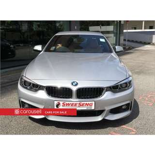 BMW 4 Series 430i Convertible M-Sport