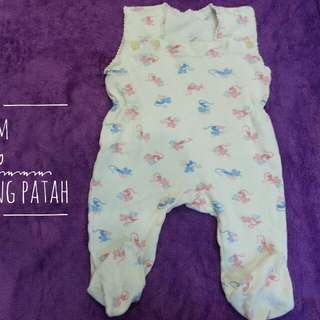 Baby cotton overall